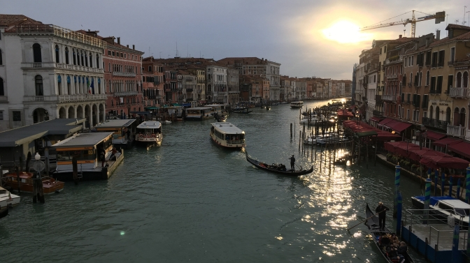 The feast in the city that can't be described: Venice