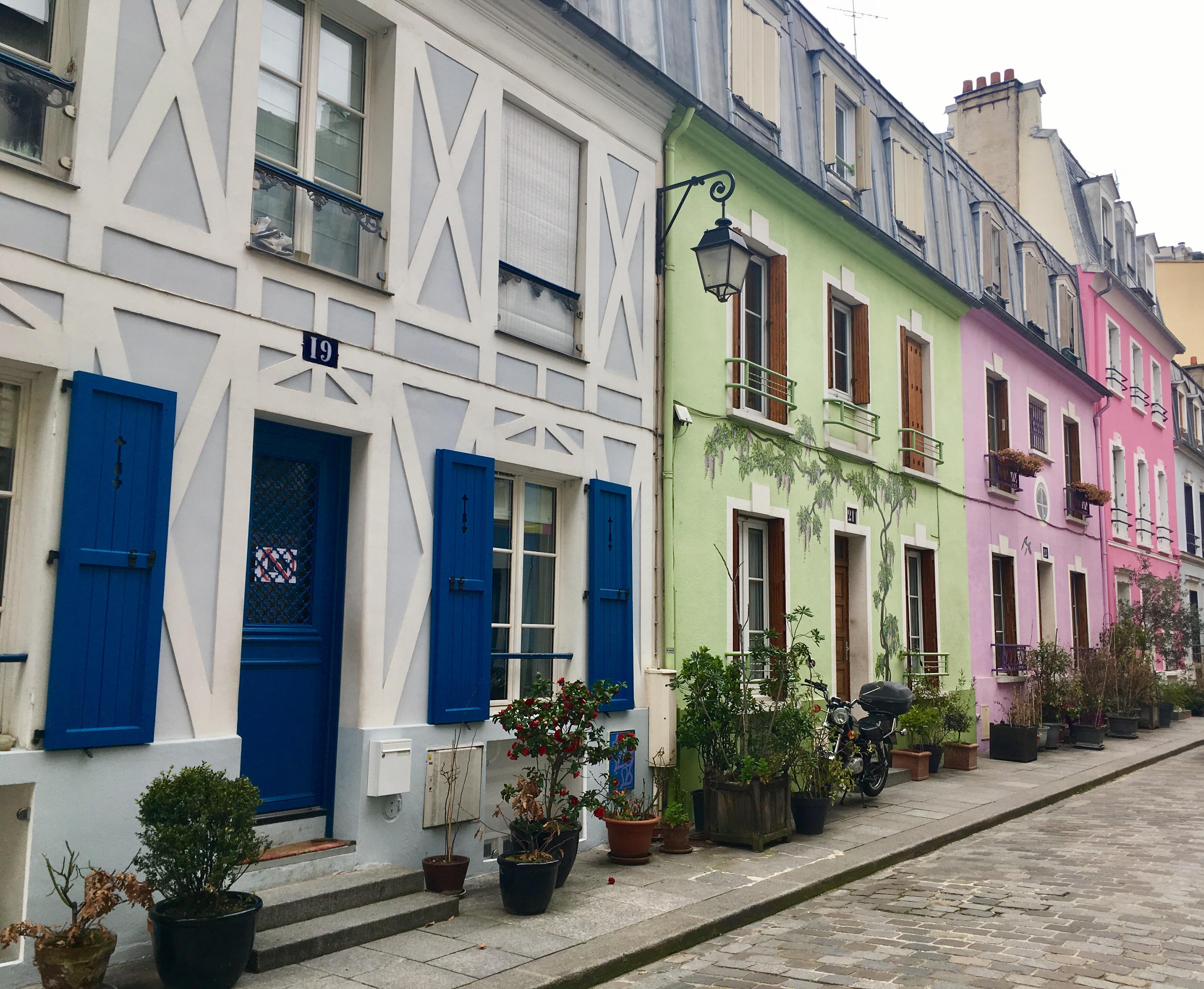 Rue Cremieux, Paris