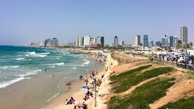 How I survived 10 days in the Middle East: day 1 – Israel, Tel Aviv