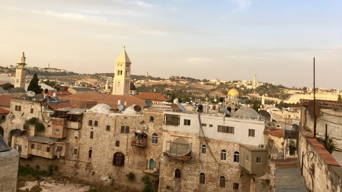 Sunday in the Middle East: Jerusalem, Bethlehem and the Dead Sea