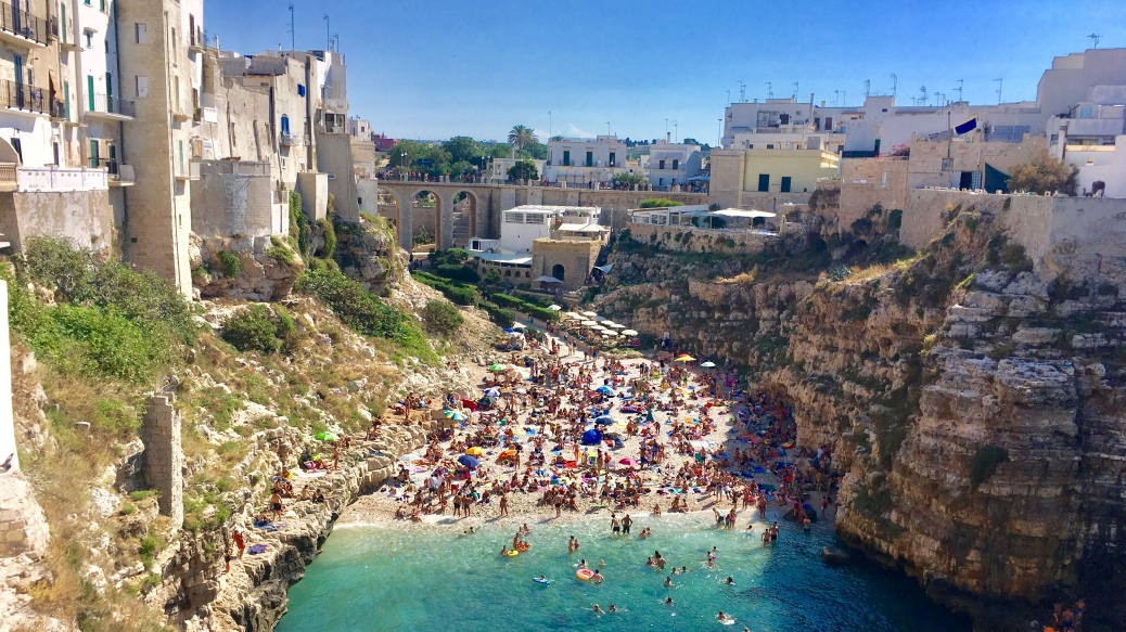 Polignano a Mare, Italy. My beautiful places