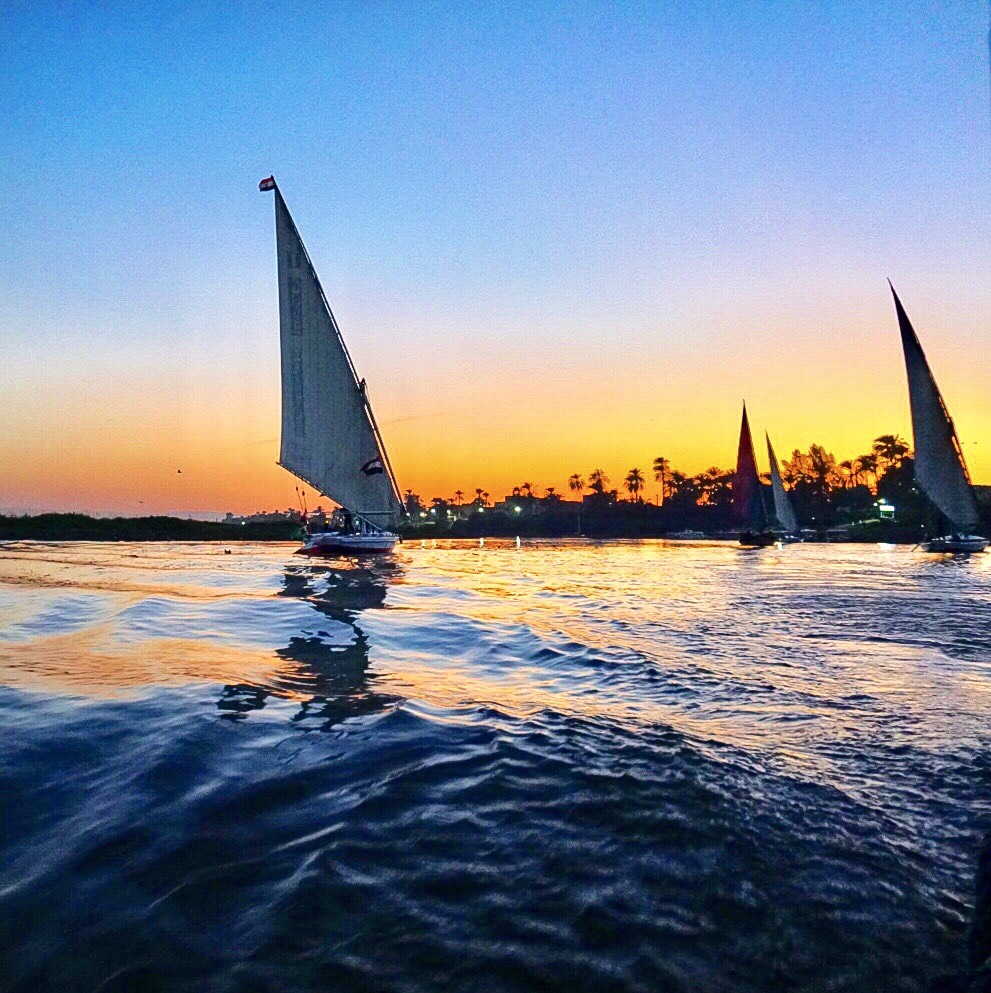 The Nile, Luxor, beautiful places