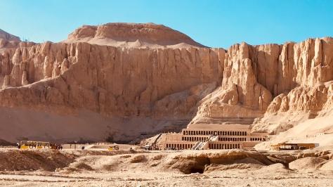 Hatshepsut Temple, Luxor, Egypt,