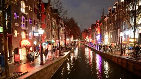 Amsterdam, Red Light District, beautiful places