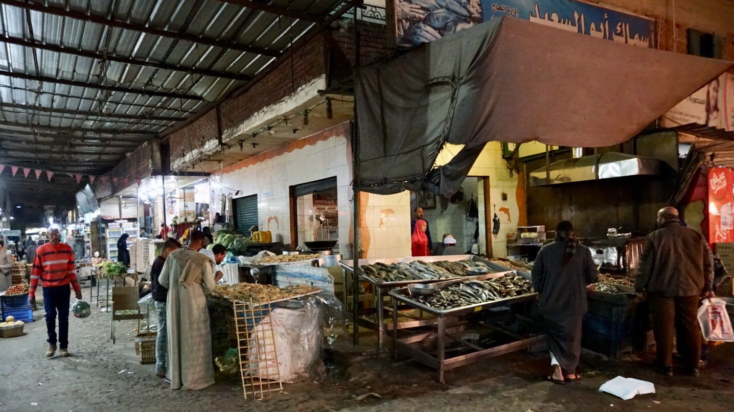 Hurghada, Egypt, market