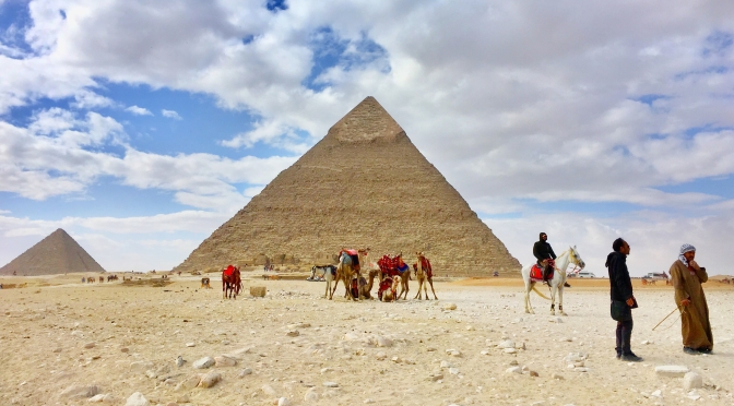 Egypt: sleepless Cairo and the Pyramids