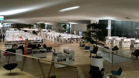Oodi Library, Helsinki Finland