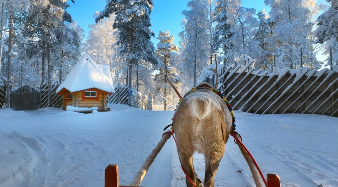 Finland: looking for Santa in Rovaniemi
