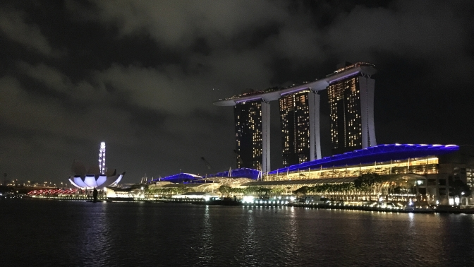 Singapore – views and glam at Marina Bay Sands