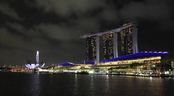 Singapore – views and glam at Marina Bay Sands