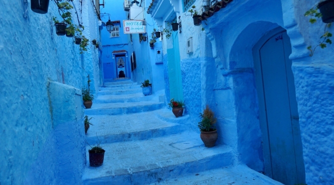 Morocco: The Blue Pearl of Chefchaouen