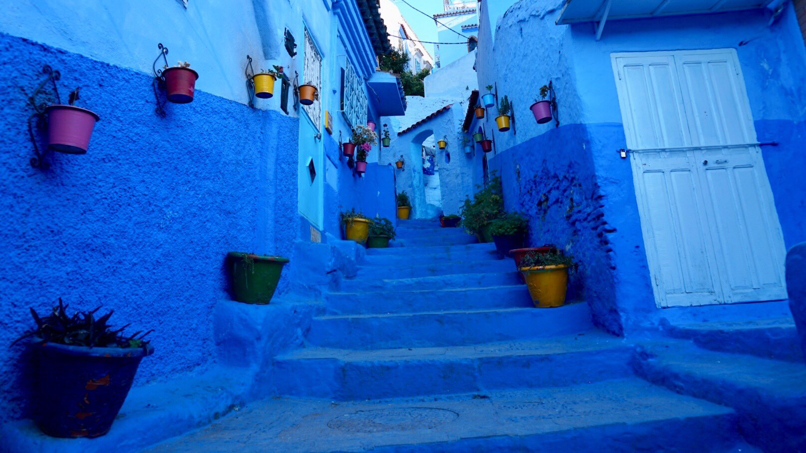 Chefchaouen, Morocco, beautiful places