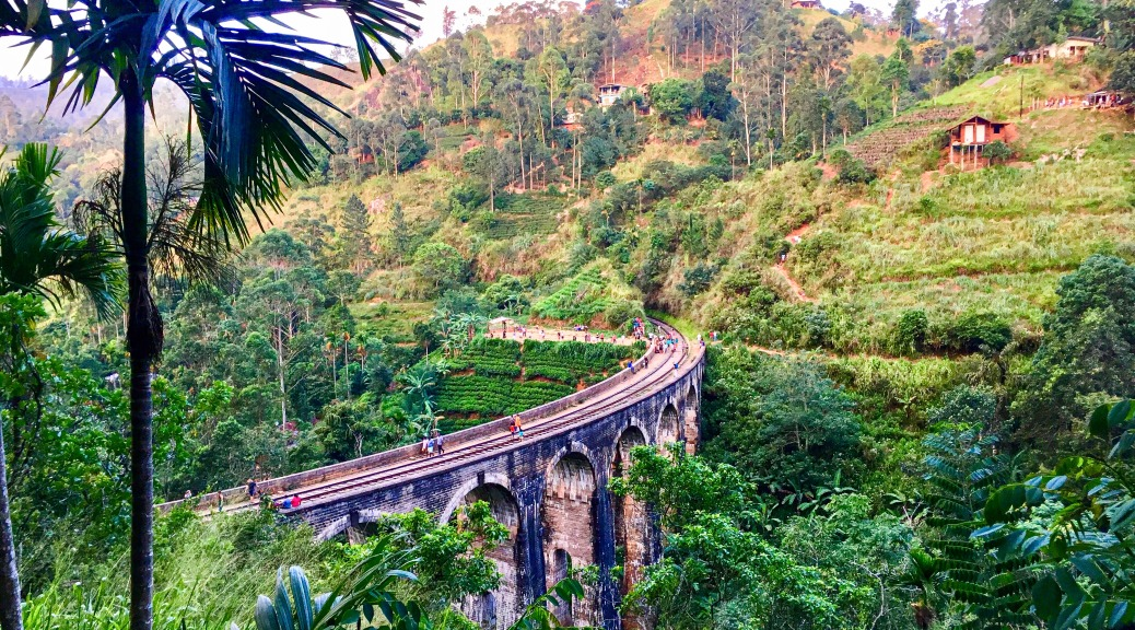 Ella, Nine Arches Bridge, Sri Lanka, beautiful places