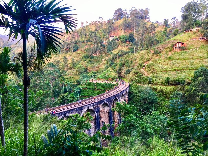 Ella, Nine Arches Bridge, Sri Lanka, beautiful places