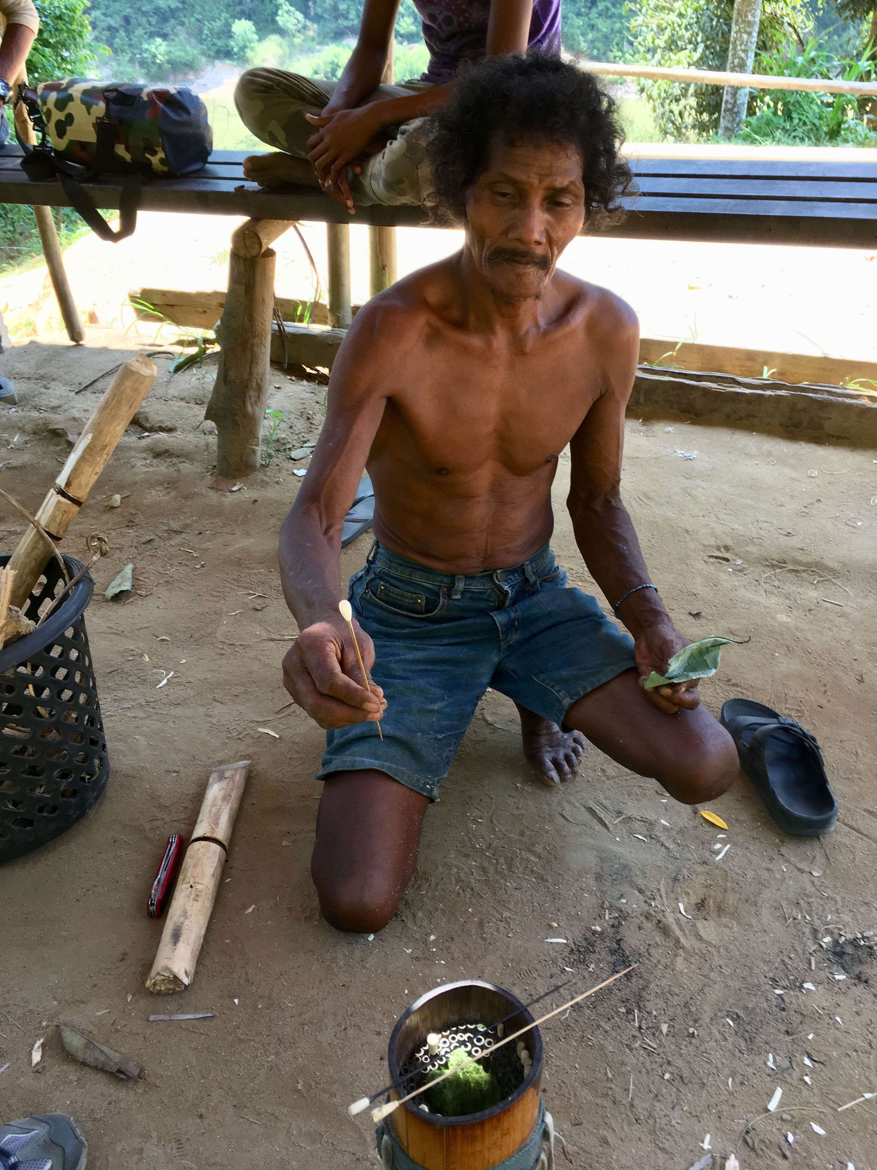 Malaysia, Orang Asli Tribe, Taman Negara