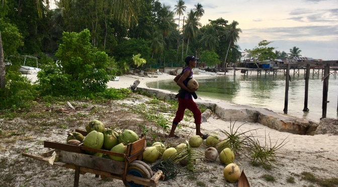 Malaysia, Mabul, the island of sea gypsies