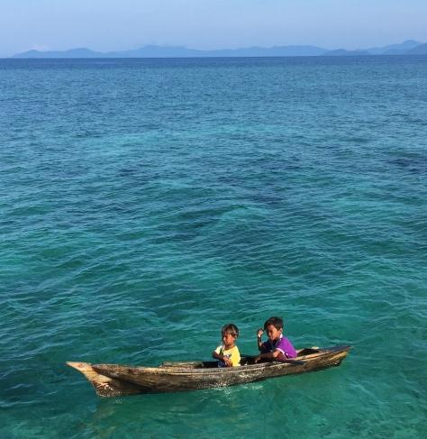 Bajau Laut people in Mabul island, Sabah, Malaysia, Borneo, sea gypsies, bajau laut, Asia