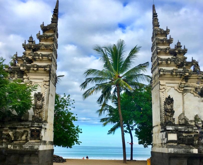 Bali, Indonesia. Kuta beach. Nusa Penida