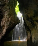 Tukad Cepung, top best waterfalls in Bali