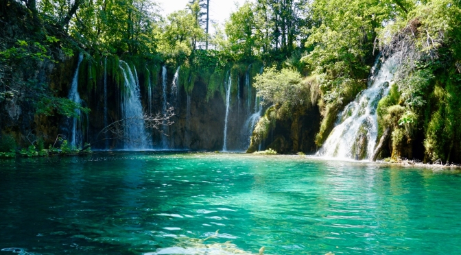 Plitvice Lakes Park in Croatia
