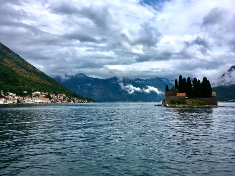 Perast, Montenegro, Our Lady of the Rocks (Gospa od Skrpjela)