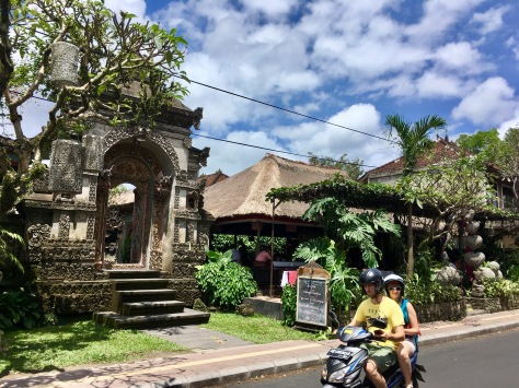 Bali, street in Ubud