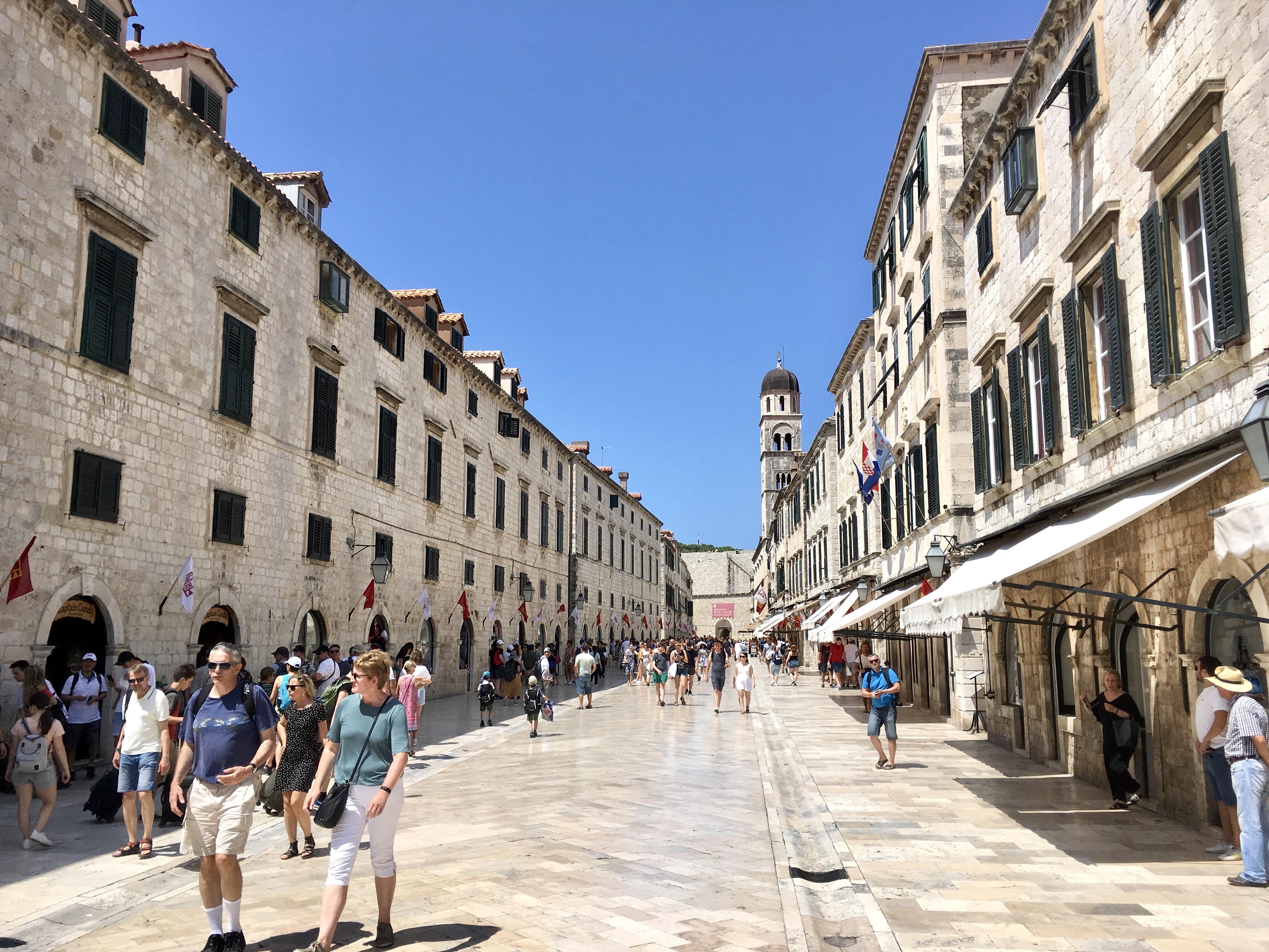 Dubrovnik Olt Town, Croatia, Dalmatia