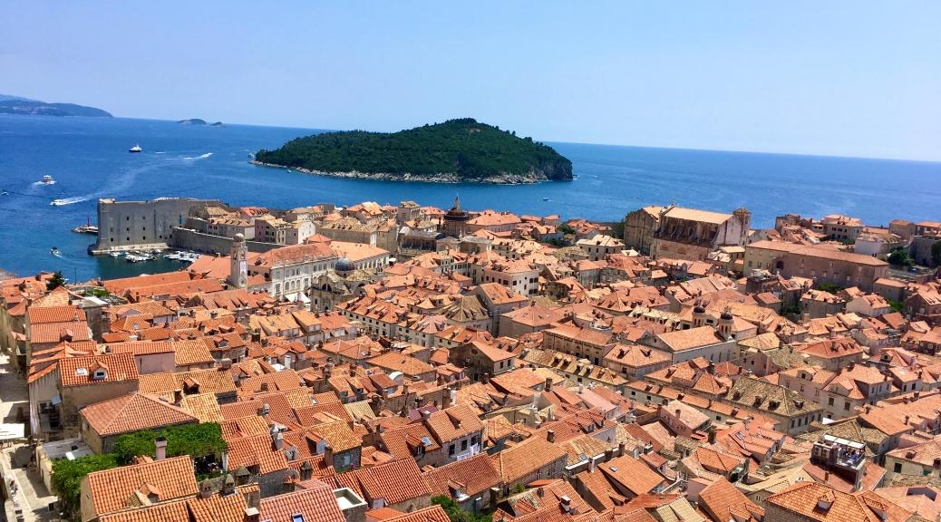 City Walls, Dubrovnik, Croatia, Adriatic Sea