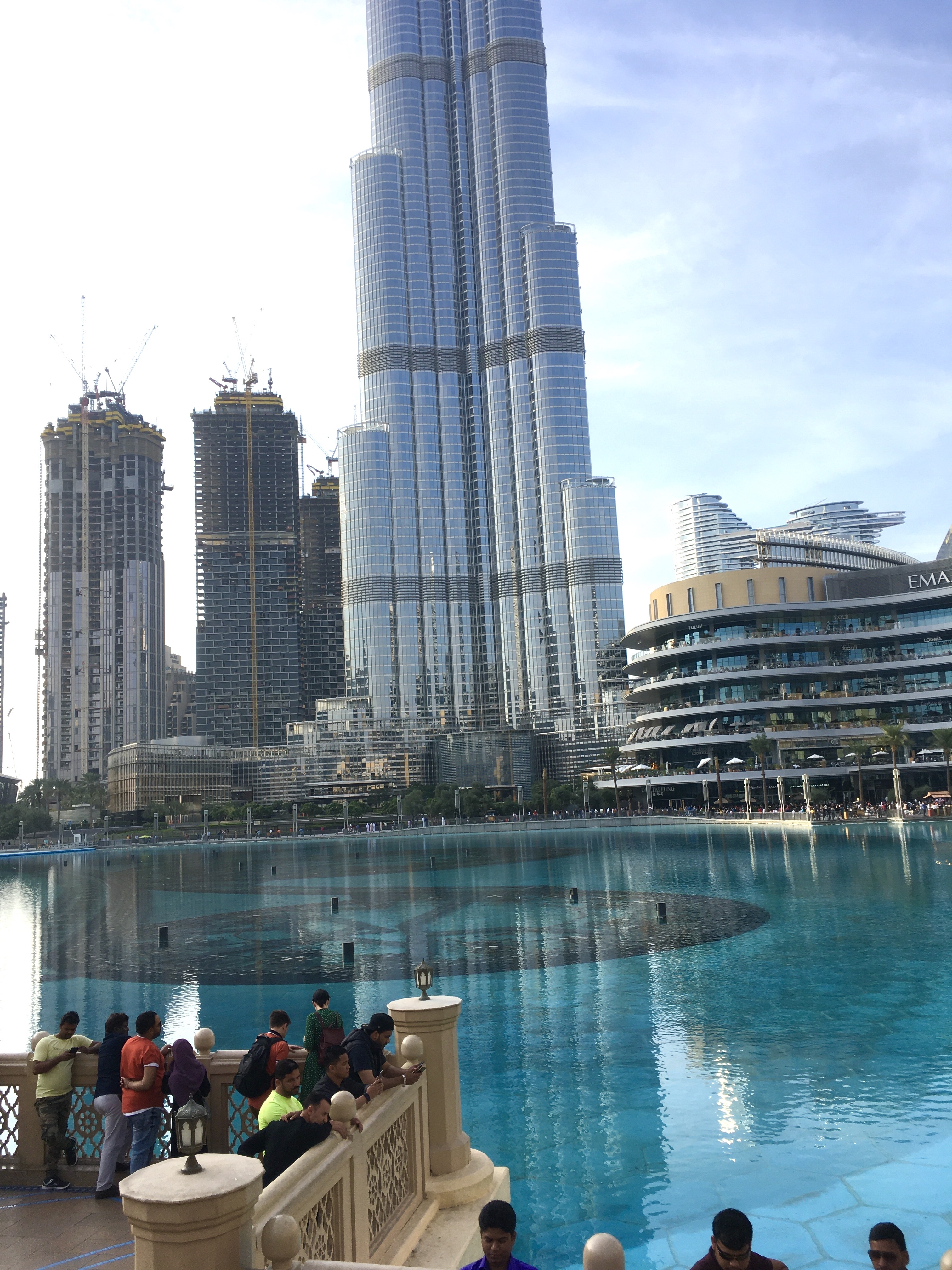 Burj Khalifa, Dubai, downtown