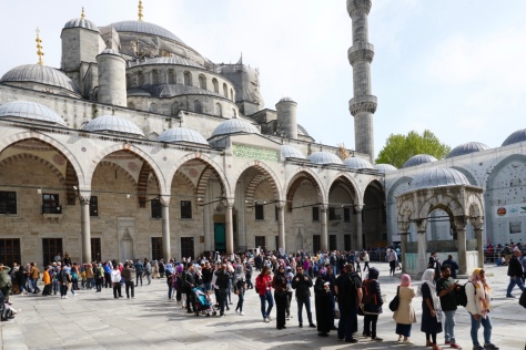 The Blue Mosque, Istanbul, Sultanahmet