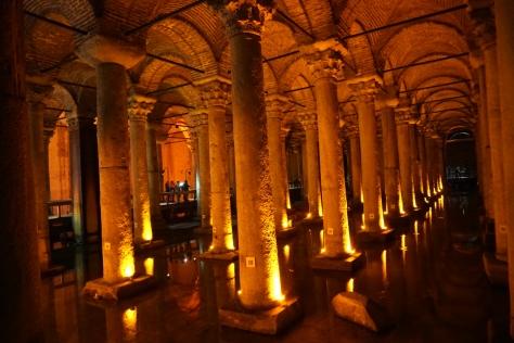 Basilica Cistern, Istanbul, Sultanahmet