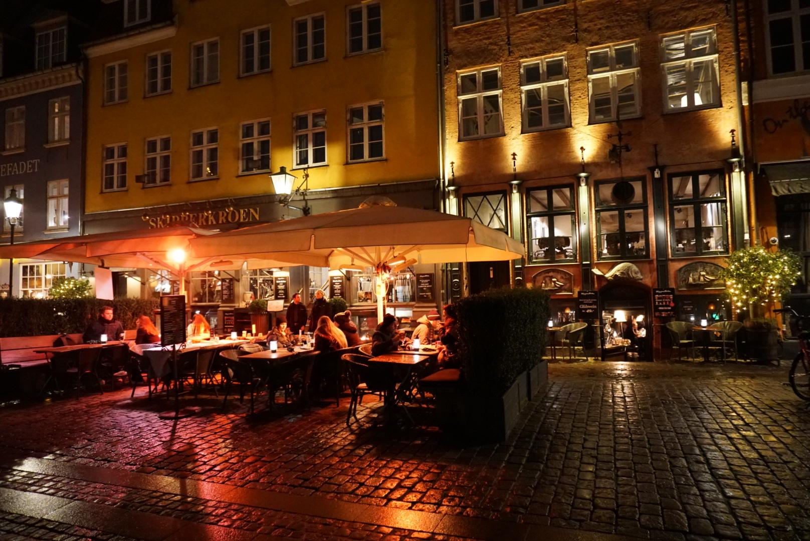 Nyhavn restaurants, Copenhagen