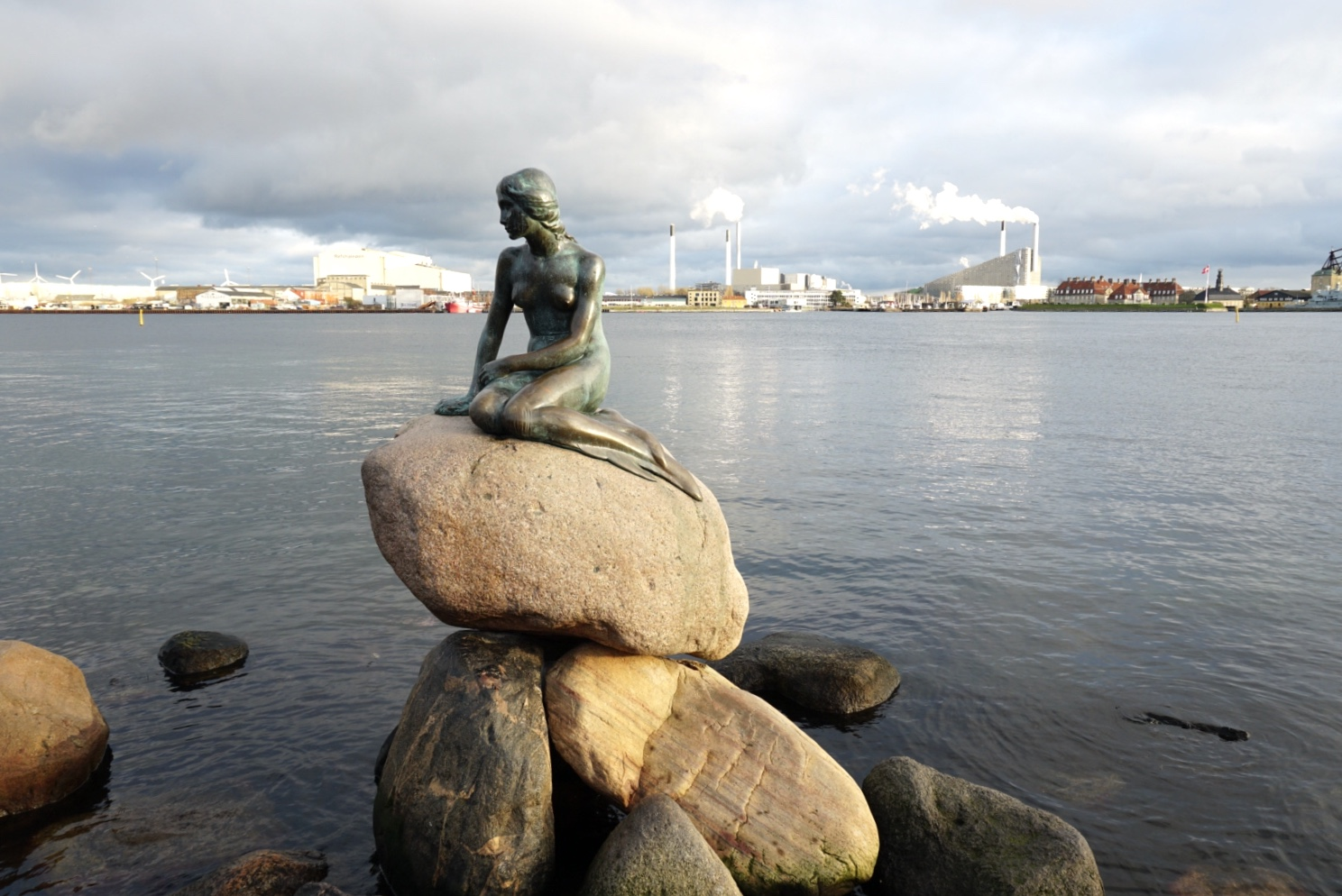 Copenhagen, Denmark, the mermaid