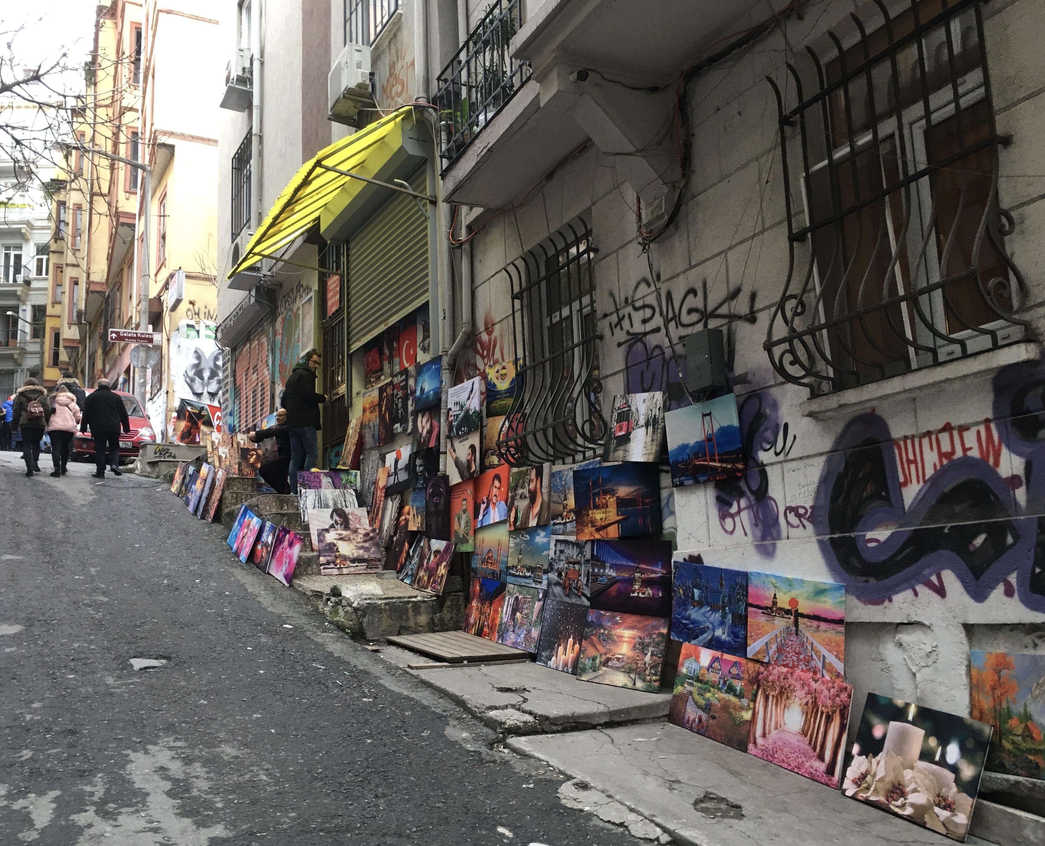 Karakoi, old Galata, Istanbul, Turkey,