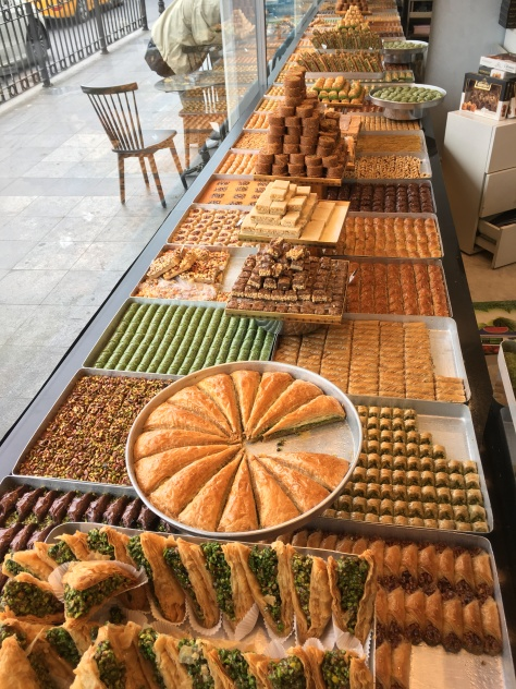Istanbul desert, Turkish sweets