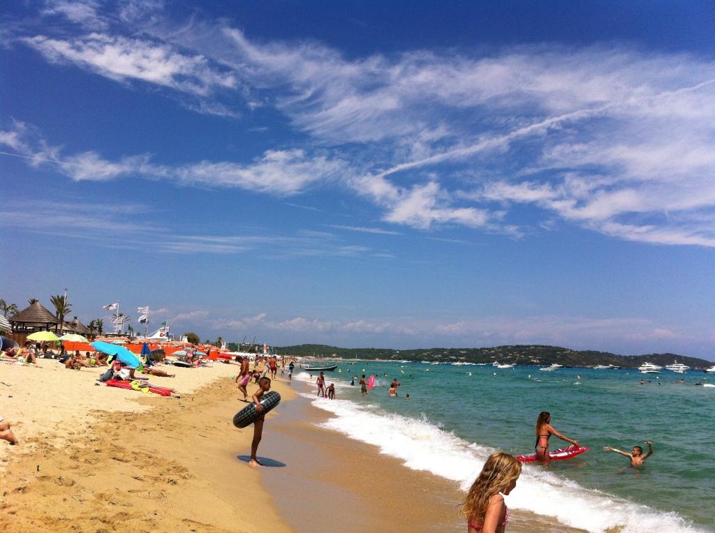 Pampelonne Beach, St Tropez, France