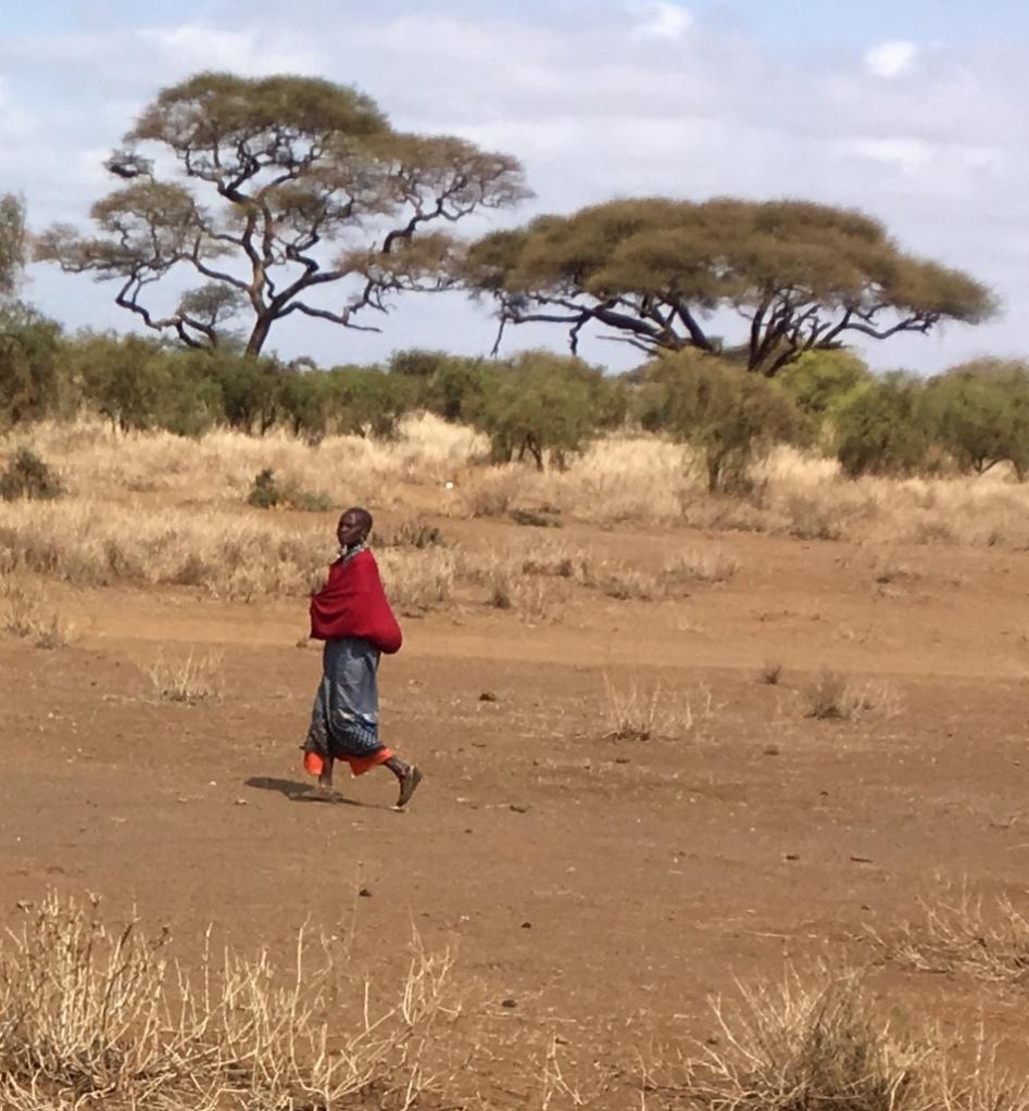 Kenya, africa, Maasai Mara, Maasai tribe woman